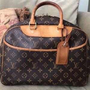 Authentic Louis Vuitton Deauville handbag